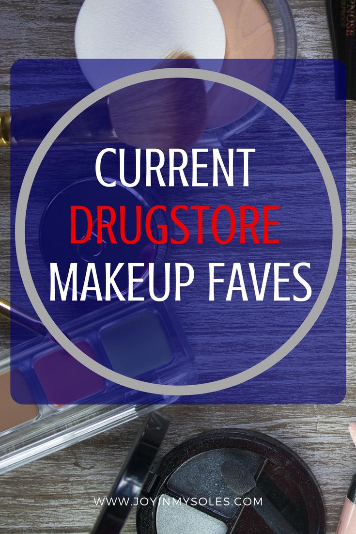 current drugstore makeup faves