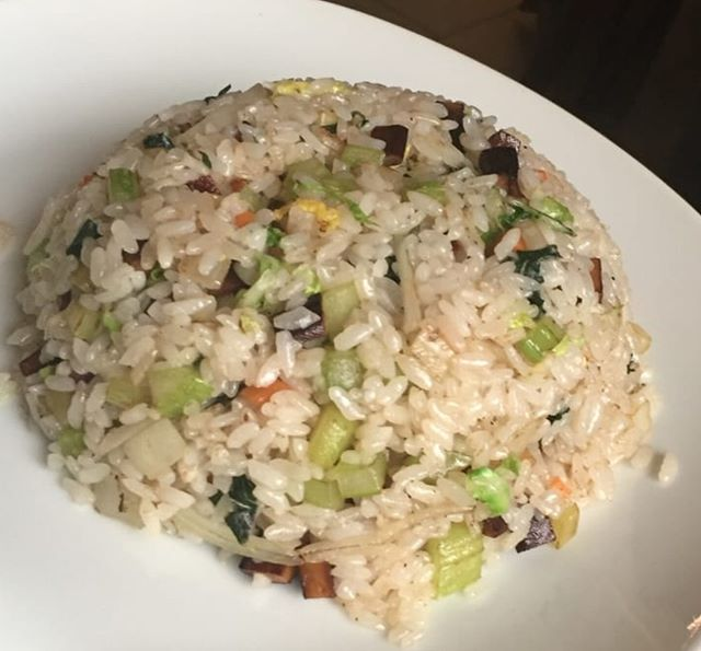 You can never go wrong with a side of #FriedRice !