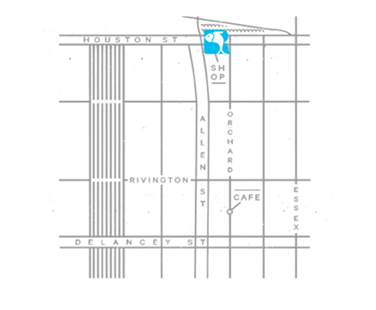 Map to the shop, link to google maps