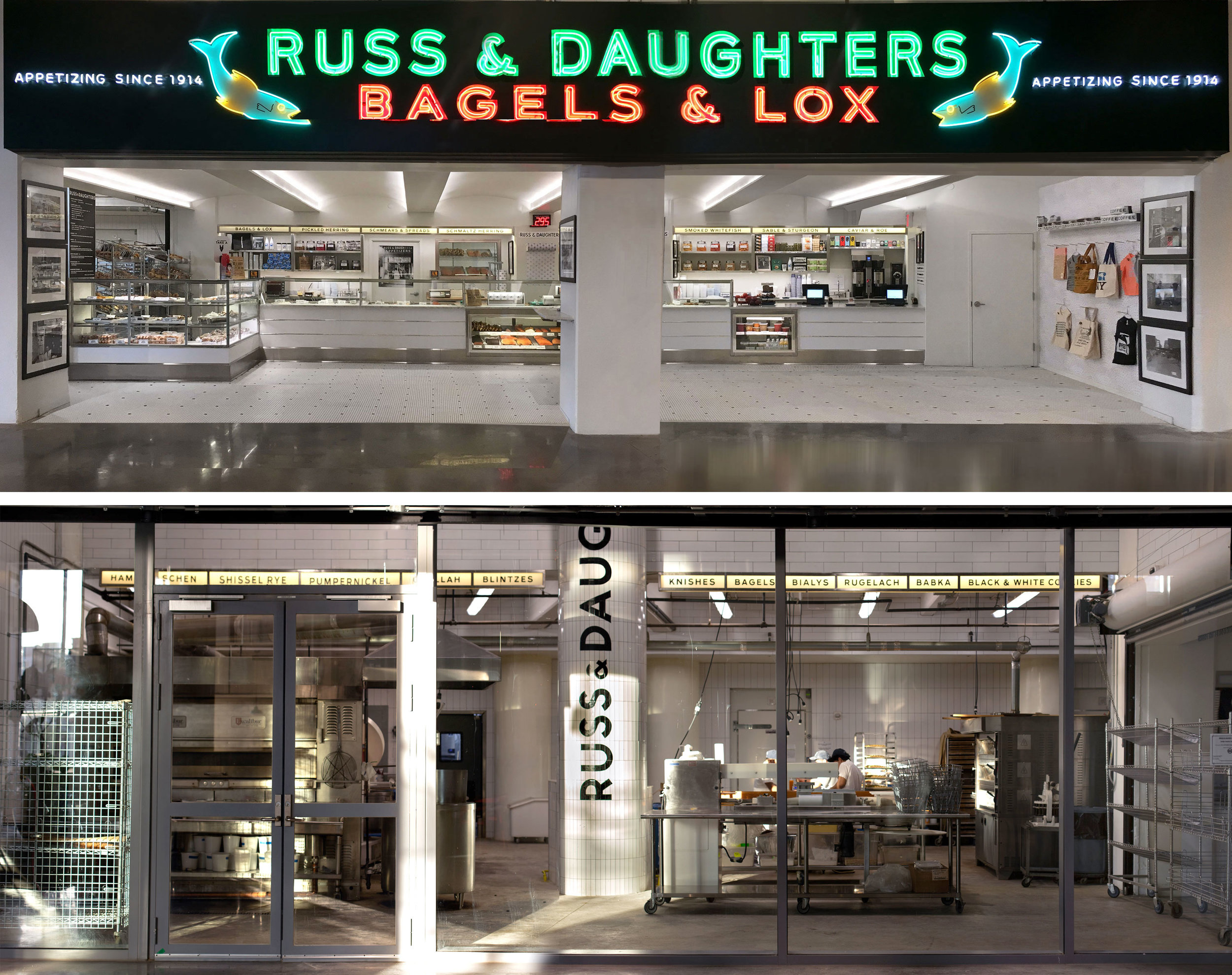 Russ & Daughters at the Brooklyn Navy Yard