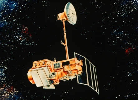 Landsat 5 Thematic Mapper. Launched in 1984 it was decommissioned in 2012.