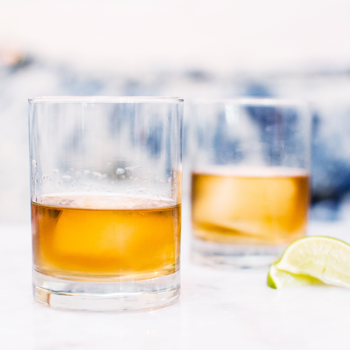 SERVING SUGGESTION - We recommend enjoying our Reposado over ice or simply with a squeeze of lime