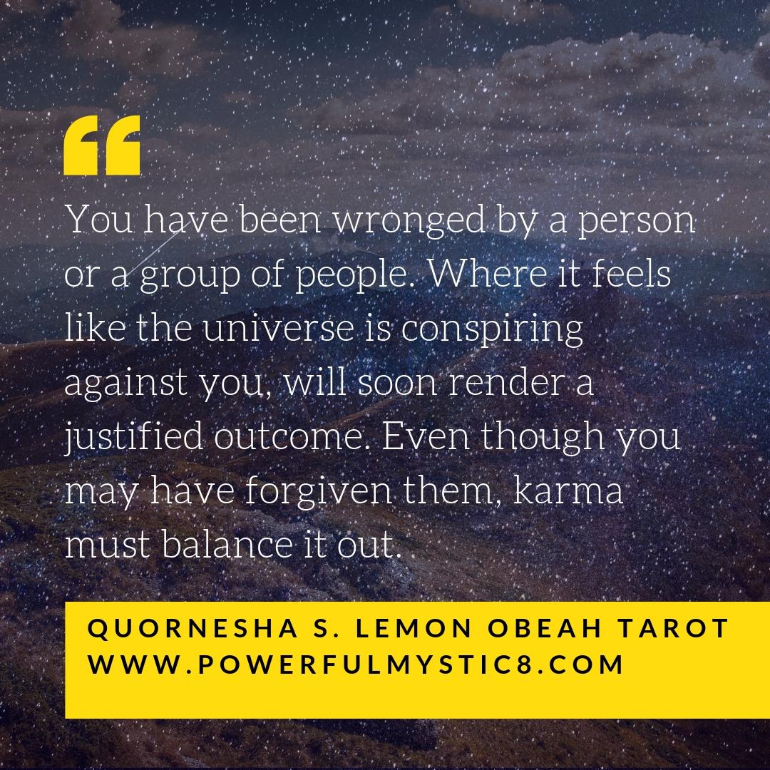 Card 6 in Quornesha S. Lemon Obeah Tarot™
