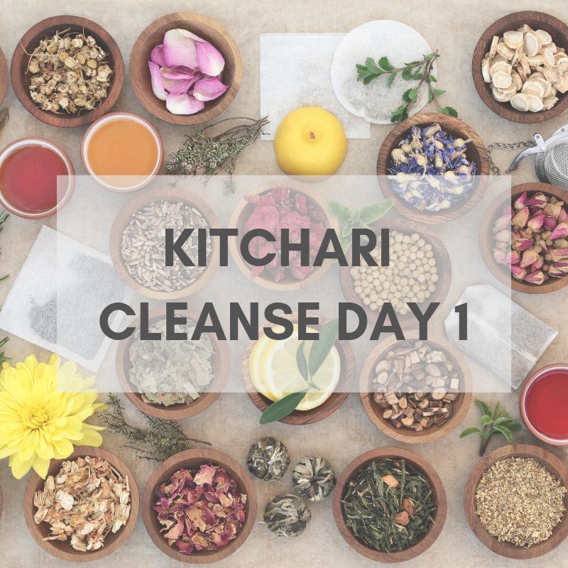 THE RECIPE - Making kitchari. A monodiet dish for Ayurvedic cleansing.