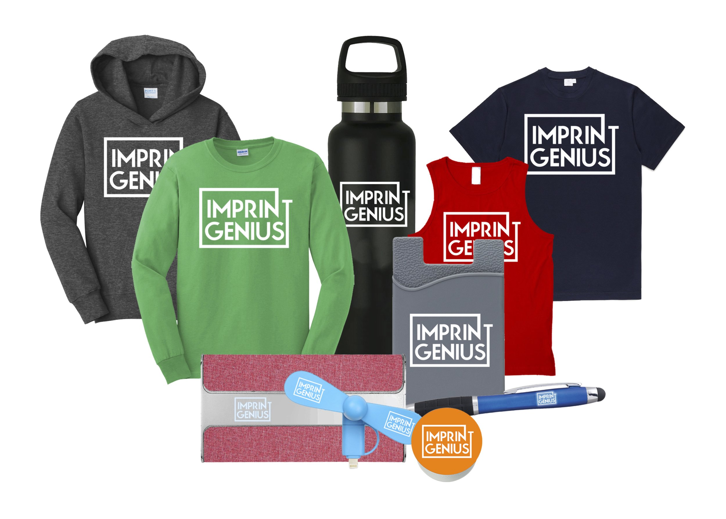 Swag For Your Brand - Apparel, Pop-sockets, Bags and anything else you can imagine with your brand on it