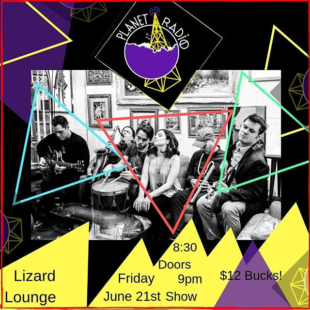 We're baaaaaaack!!! Join us THIS FRIDAY at @lizardloungeclub for our first gig in months! We have new music to share and are ready to party with you!!!!! ❤️❤️❤️🌎📻 . . . . . . #planetradio #live #music #newmusic