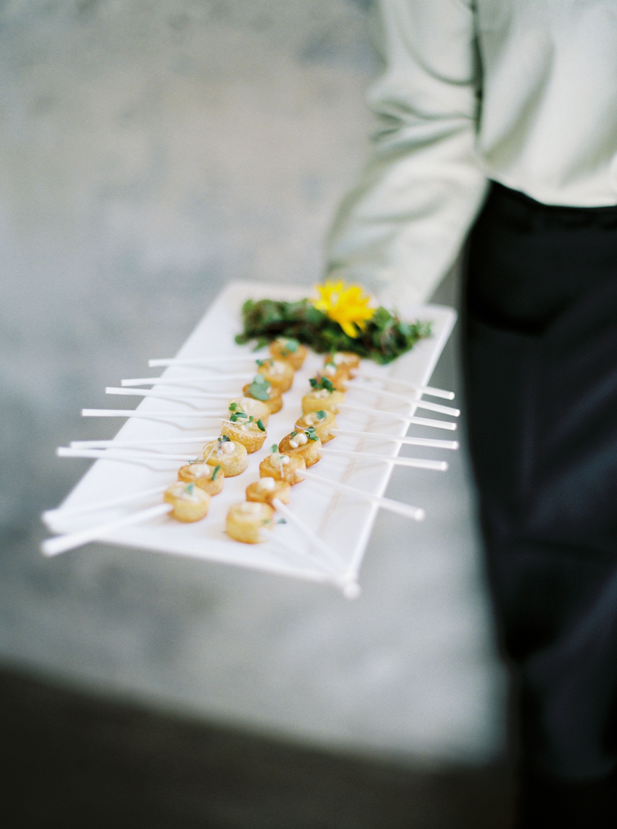 How I Planned My Wedding: Catering.    Natalie Choi Events. Meiwen Wang. Lambert Floral Studio.