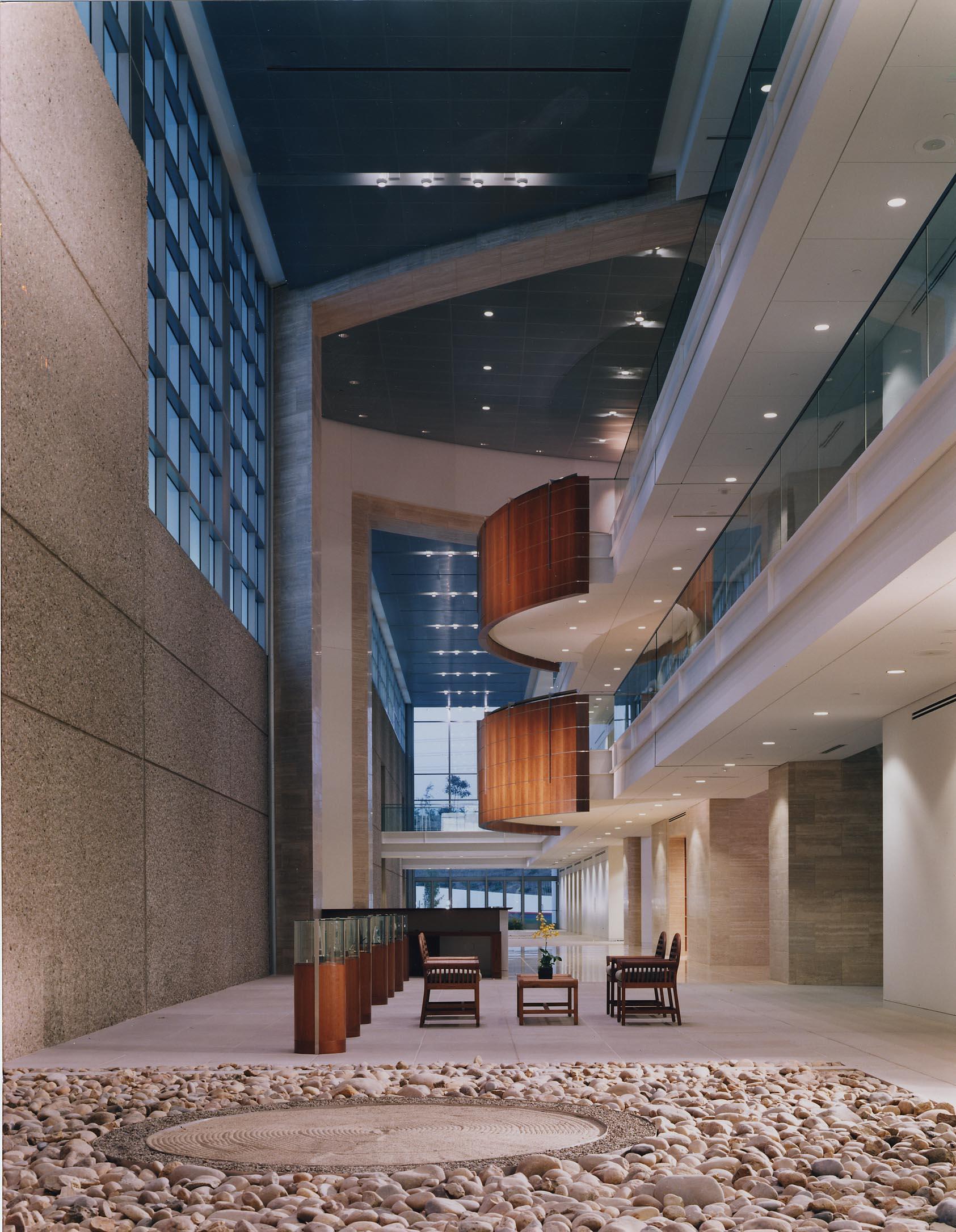 NIKKEN Headquarters Atrium. Served as Project Director for Gensler.