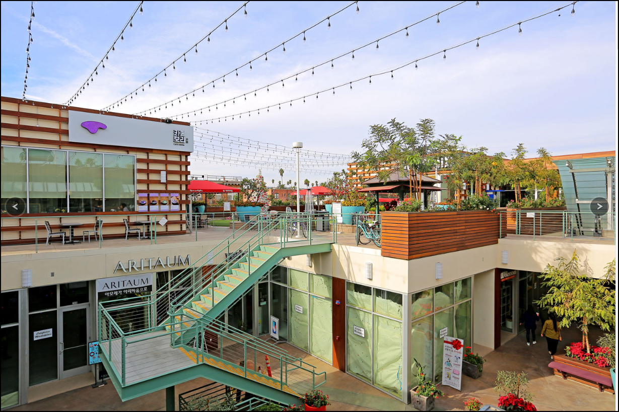 California Marketplace, Koreatown, CA. Collaboration with Gruen Associates.