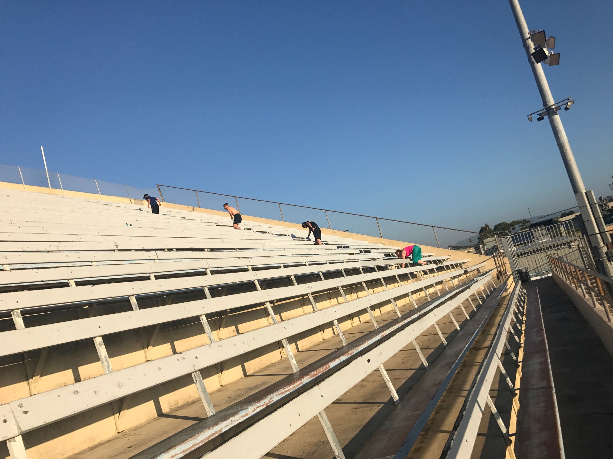 Track Tuesdays bleachers.JPG