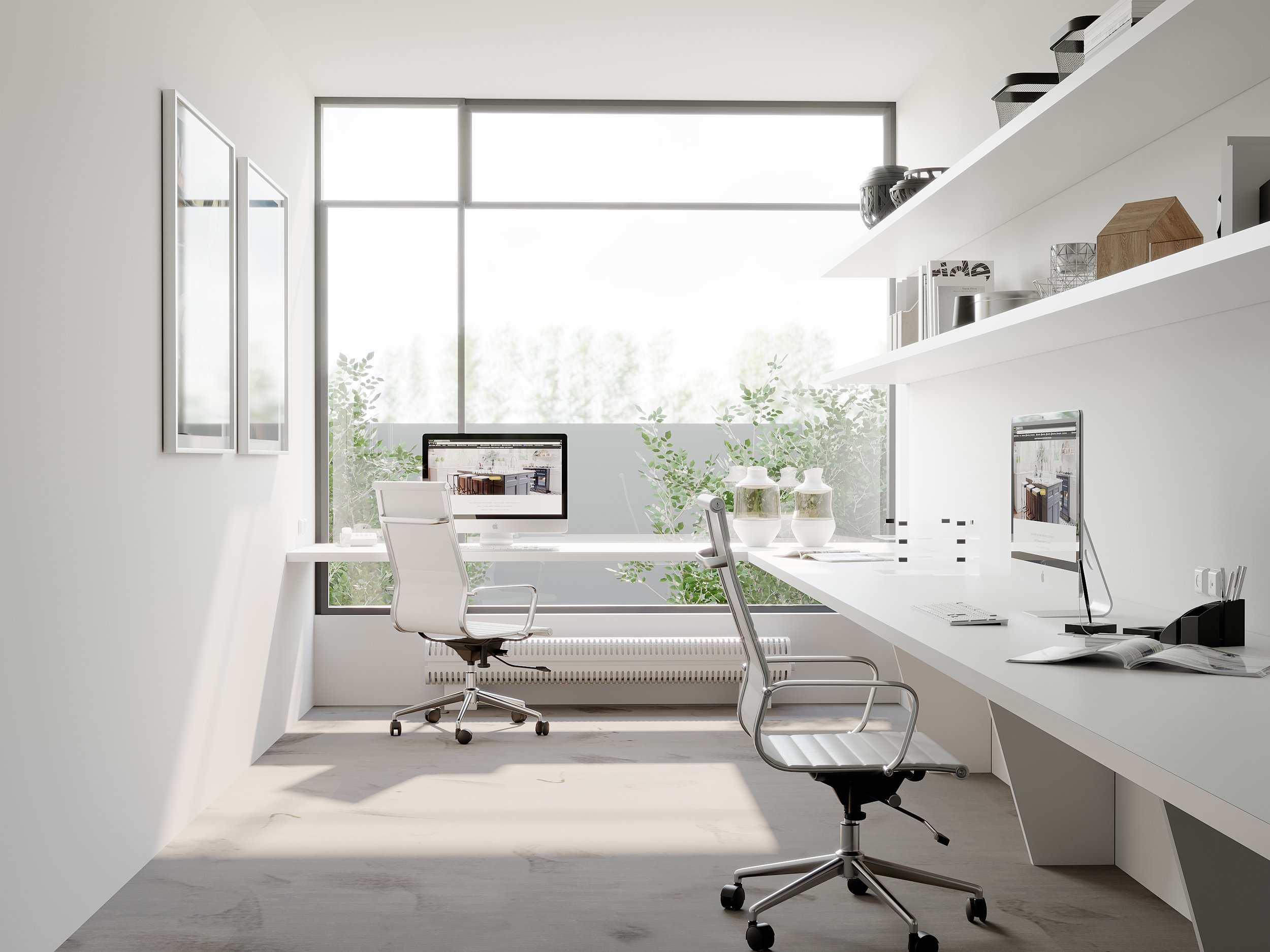 Benny's Office
