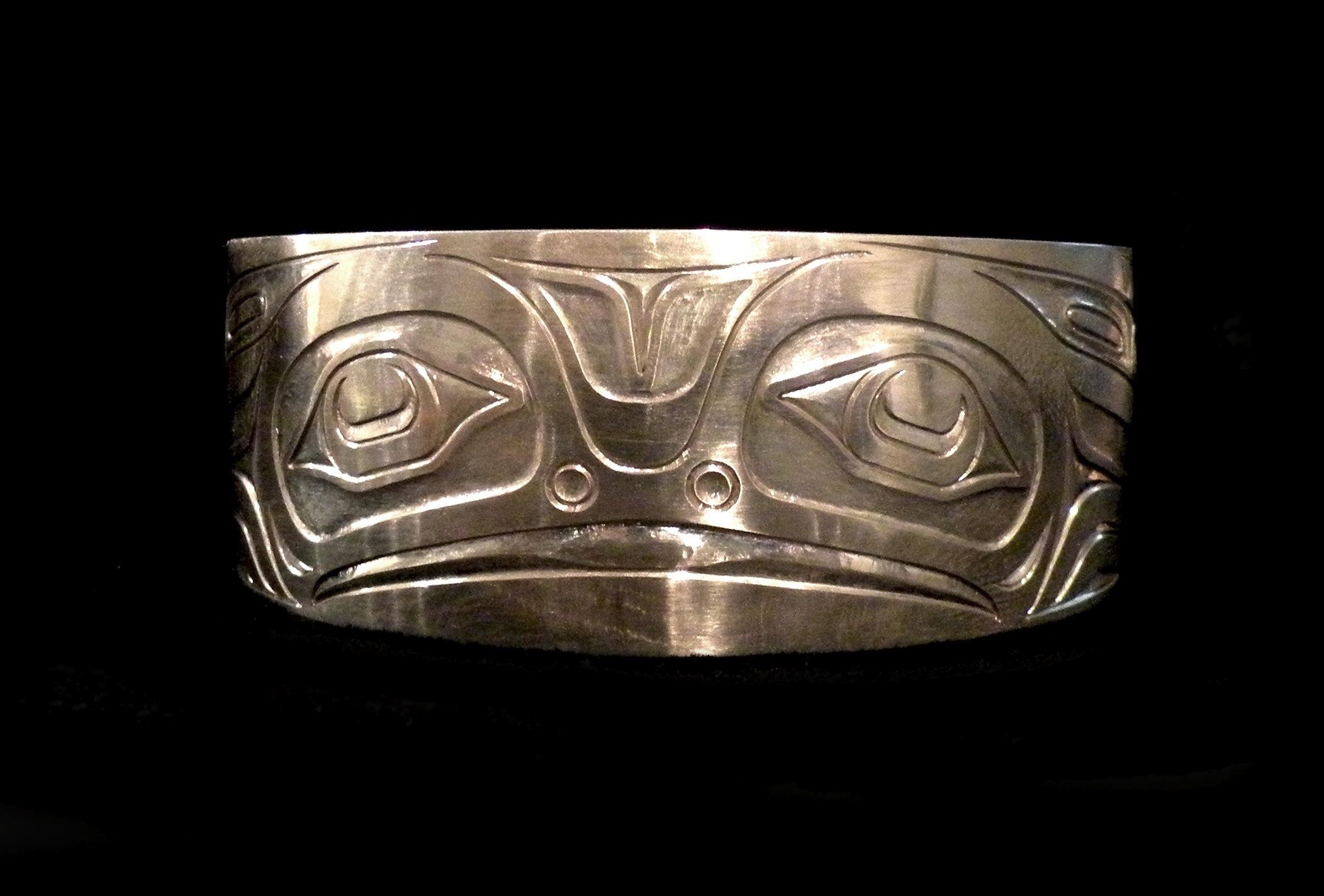 Silver Frog Bracelet