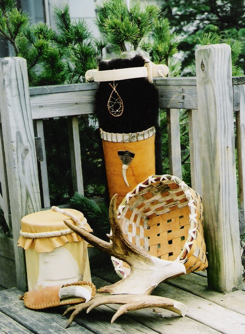Birch Bark Basketry