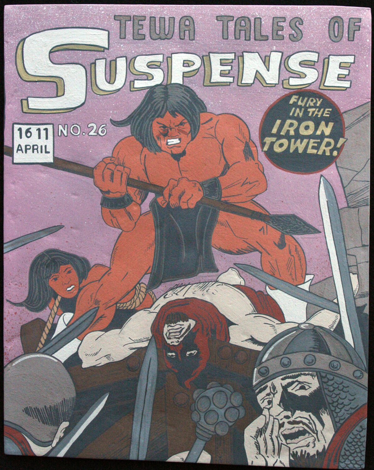 TEWA TALES OF SUSPENSE #26 'FURY IN THE IRON TOWER!'
