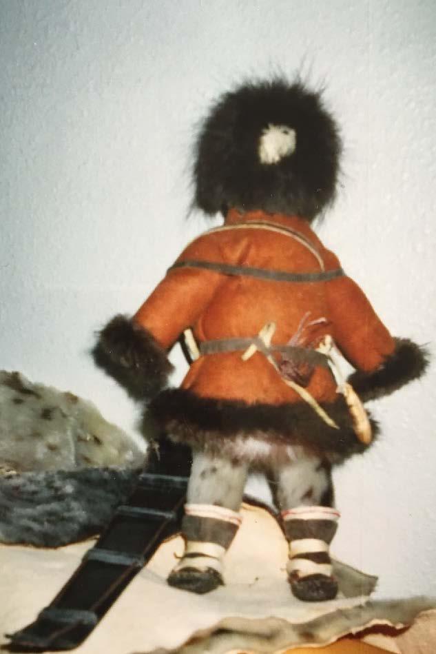 Caribou Hunter Doll