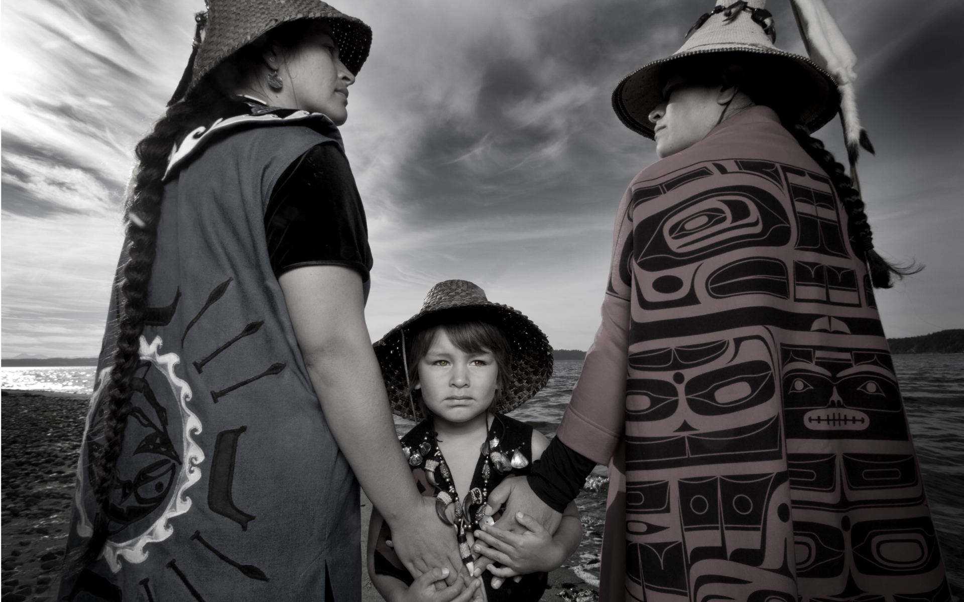 Darkfeather, Bibiana and Eckos Ancheta, Tulalip, Washington