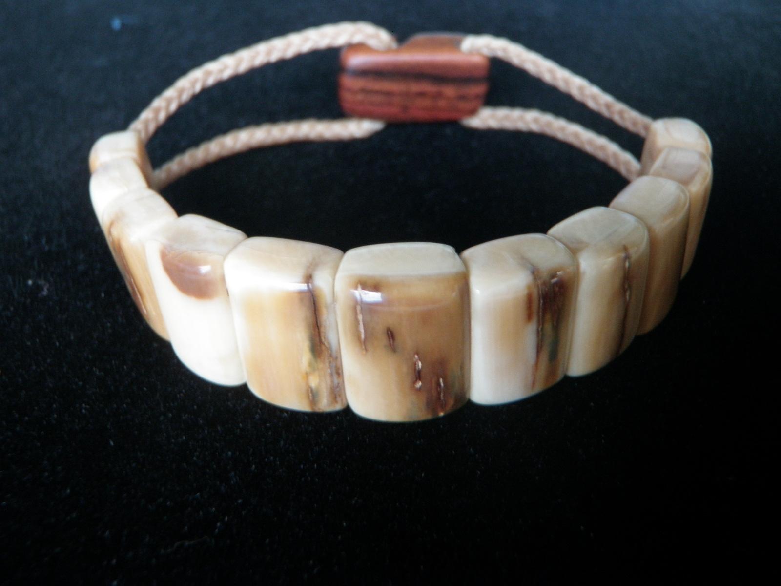 Fossil Ivory Bracelet