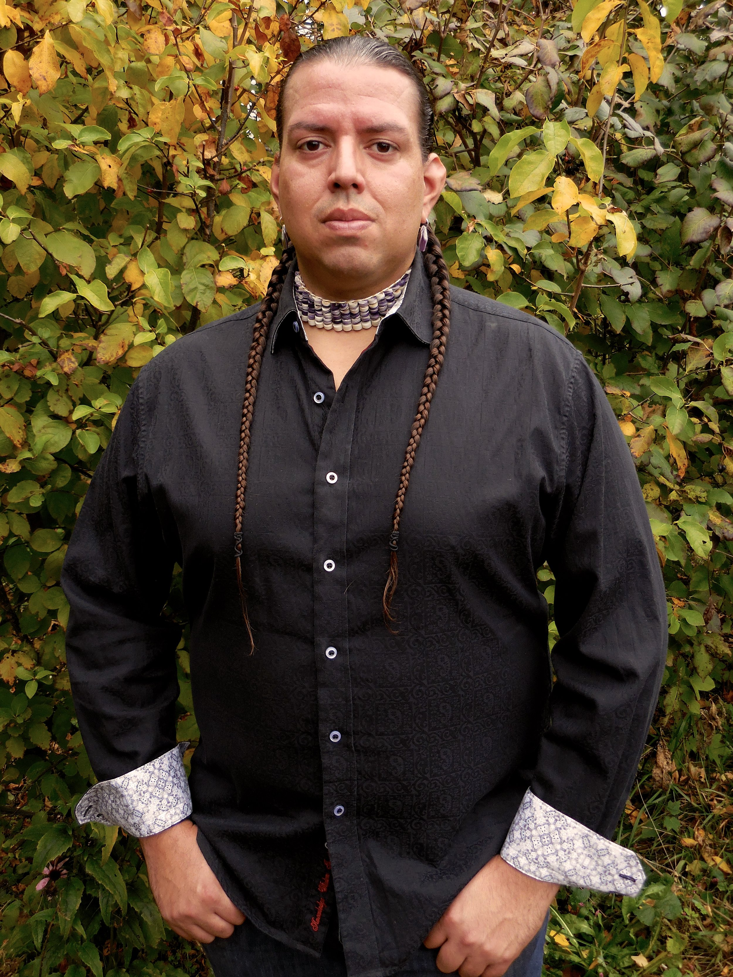 Jonathan James-Perry (Aquinnah Wampanoag). Image courtesy of artist.