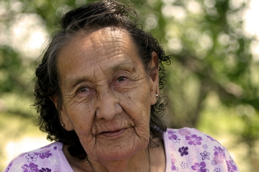 Genevieve Running Horse Moore (Sicangu Lakota)