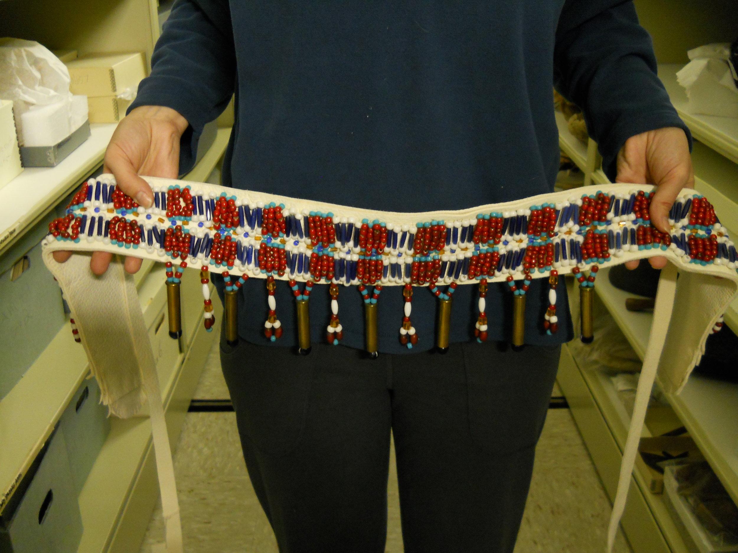 Replica of Alutiiq Women's Dance Belt