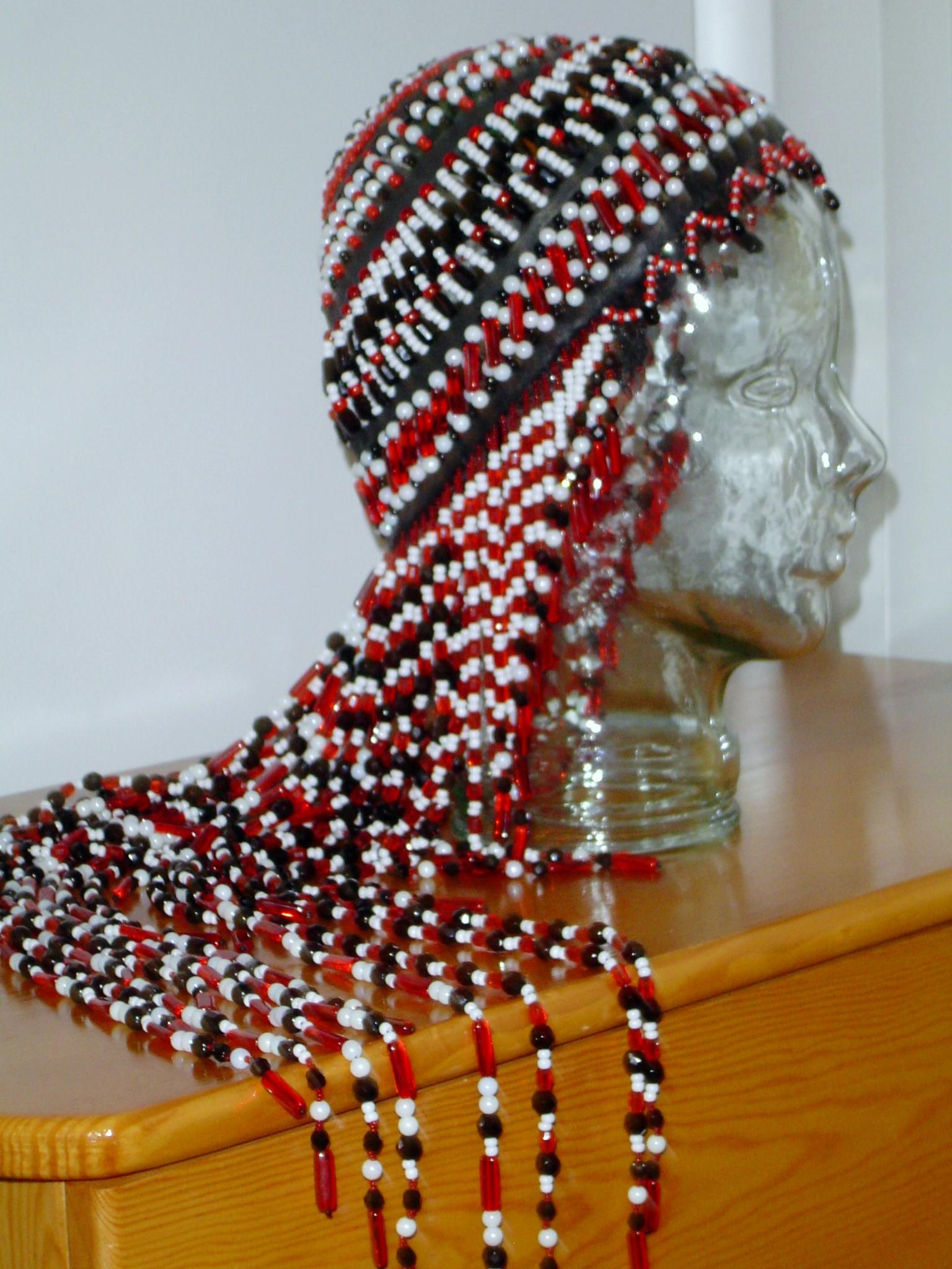 Alutiiq Woman's Dance Headdress