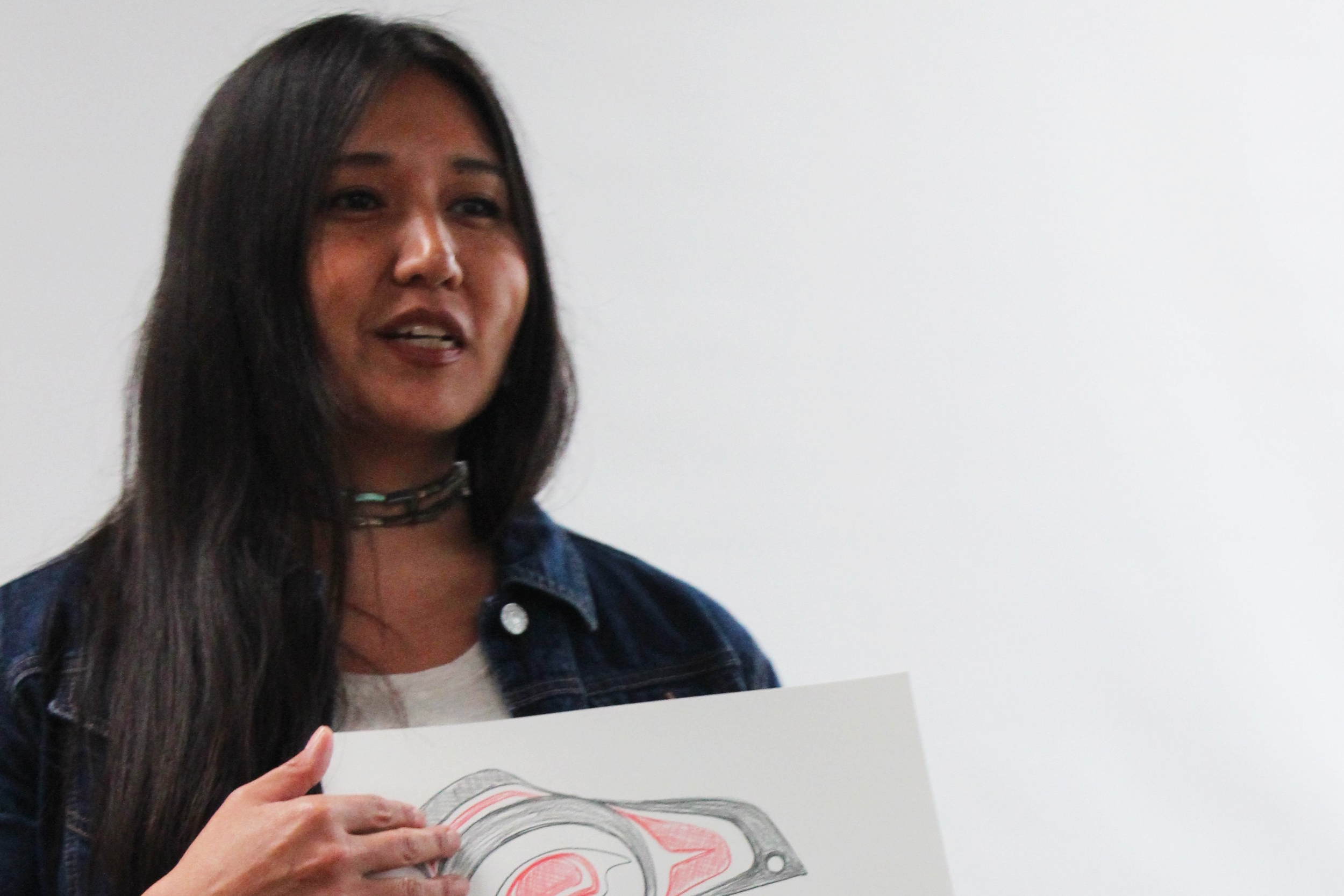 Sondra Simone Sequndo (Haida)