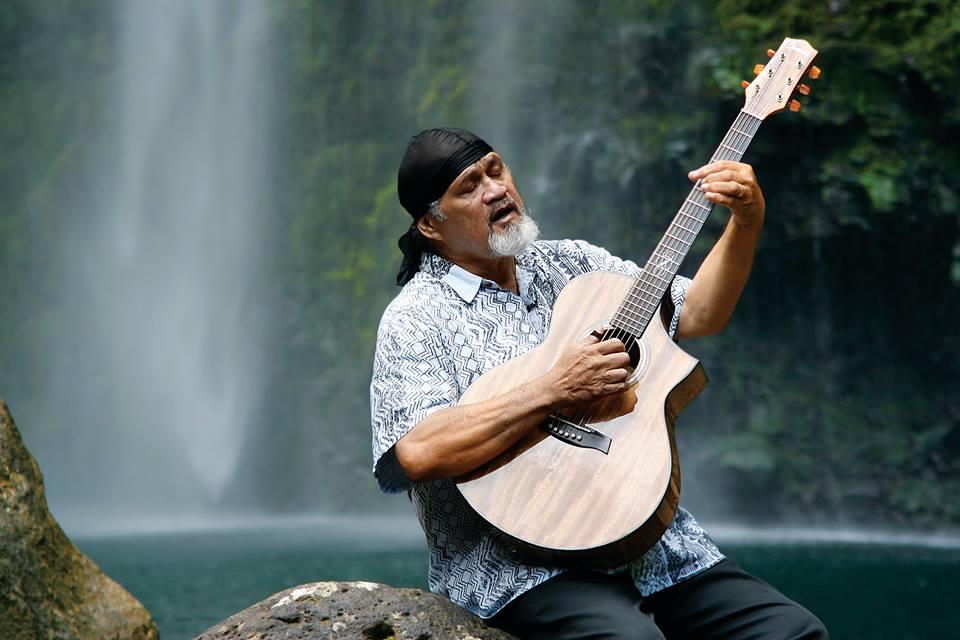 Cyril Lani Pahinui (Native Hawaiian). Image by Chelle Pahinui.