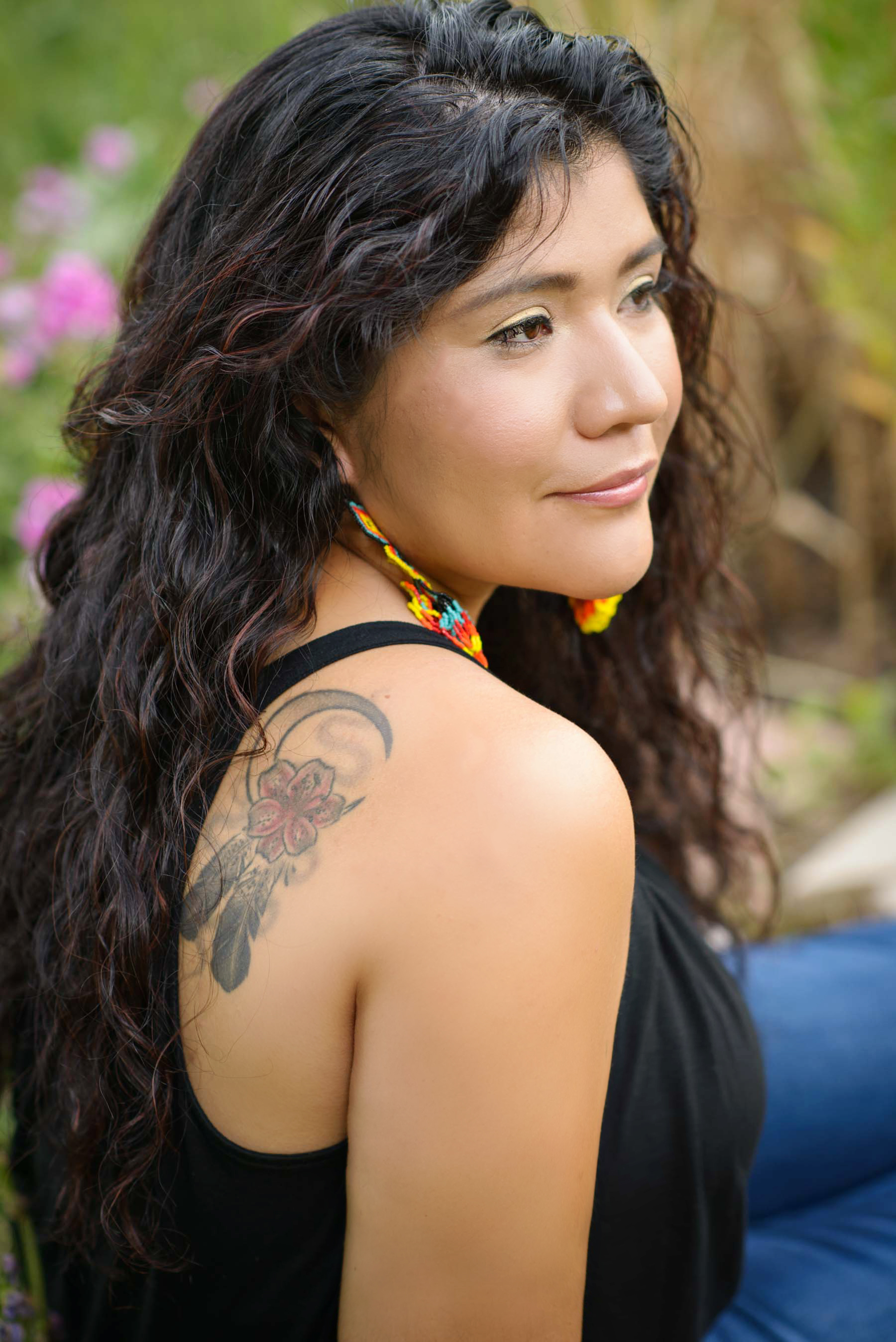 Tanaya Winder (Duckwater Shoshone Tribe). Image courtesy of artist.