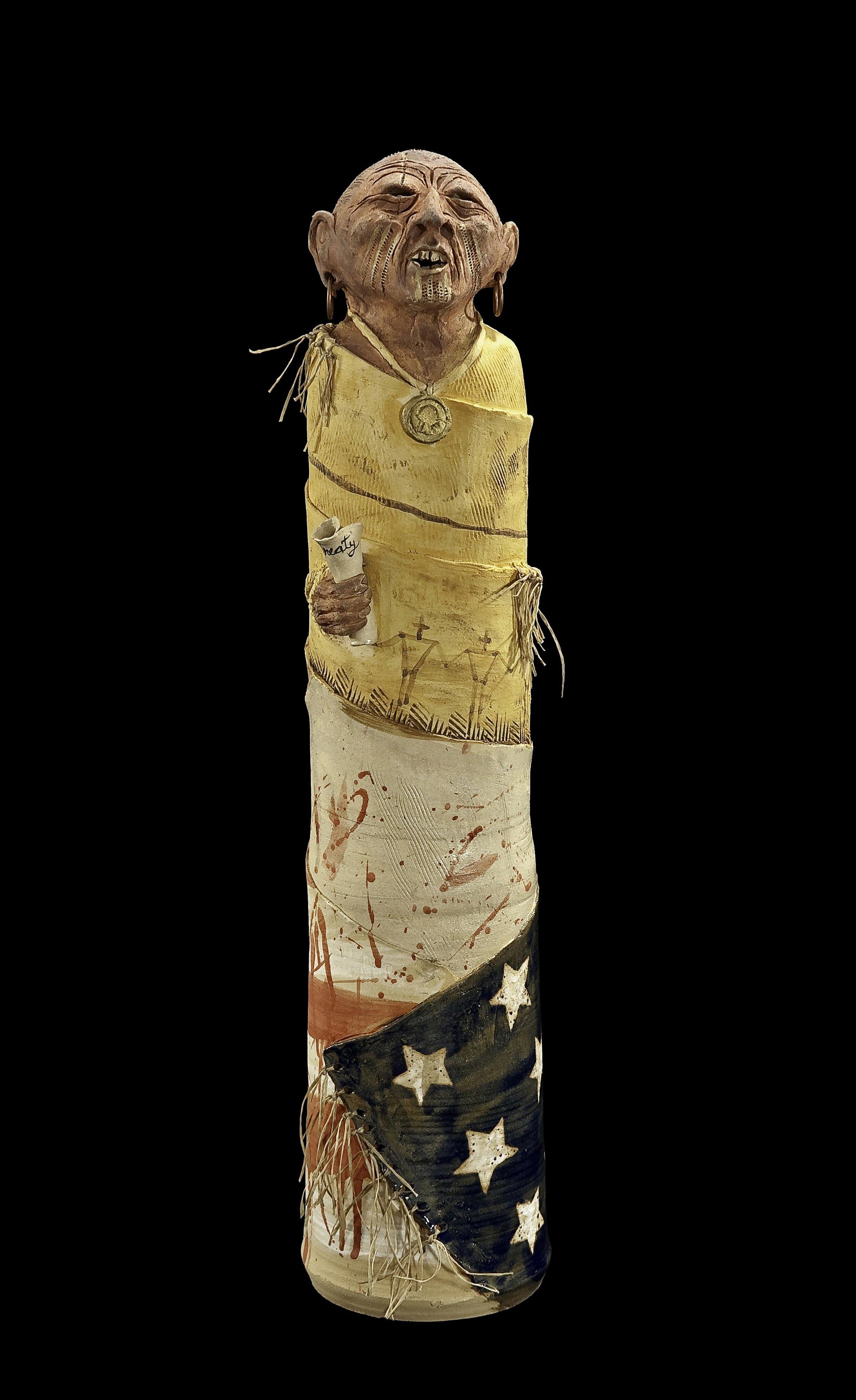 6-Peter_B_Jones_2010_Another_Broken_Treaty_Clay_pigment_sinew_copper_25.75.jpg