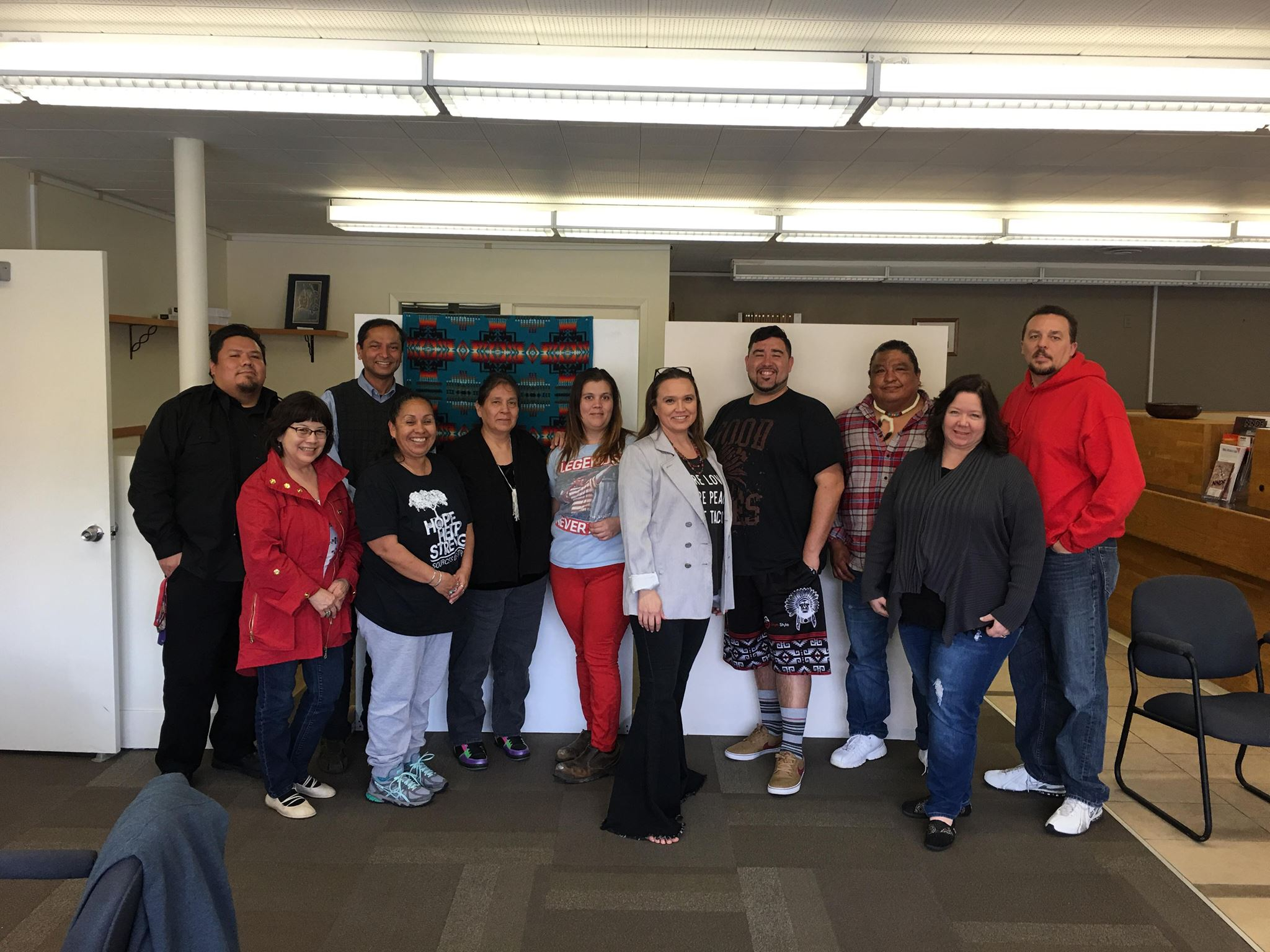 Northwest Native Development Fund hosted on First Peoples Fund Native Artist Professional Development training to local Native artists interested in strengthening their arts business.