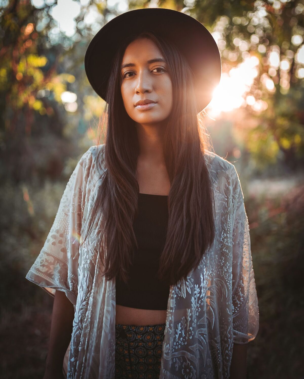 Raye Zaragoza (O'odham, Mexican, Taiwanese, Japanese) Photo by Bruce Herring