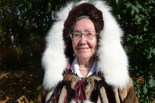 Margaret Nakak (Yupik/Inupiaq)