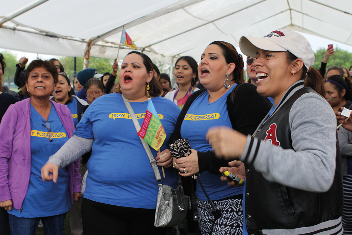 On March 8, 2015—International Women's Day—hundreds convened on the streets of Brownsville for a march and rally to celebrate Latinas and immigrant women living in the Rio Grand Valley