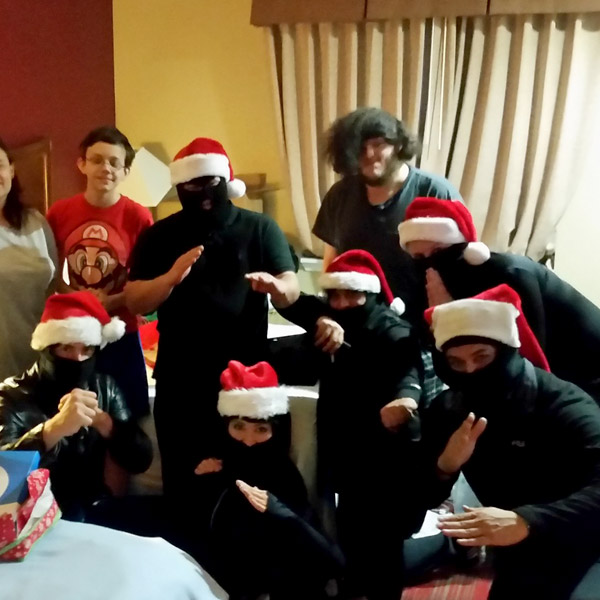 We are The Original Christmas Ninjas!