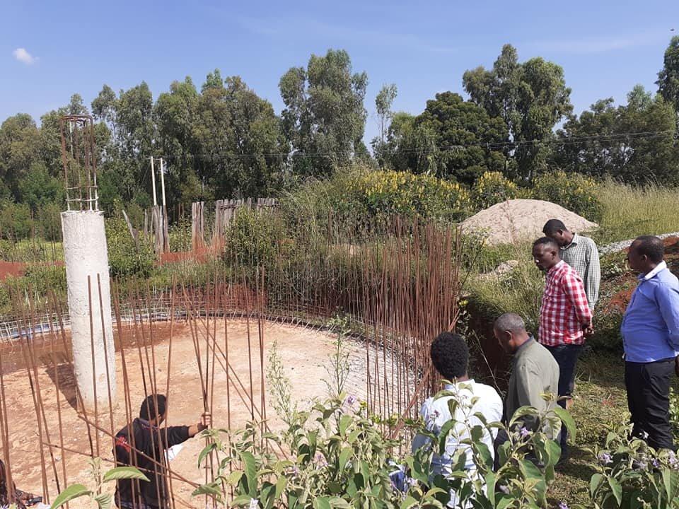 Construction beginning on the new reservoir