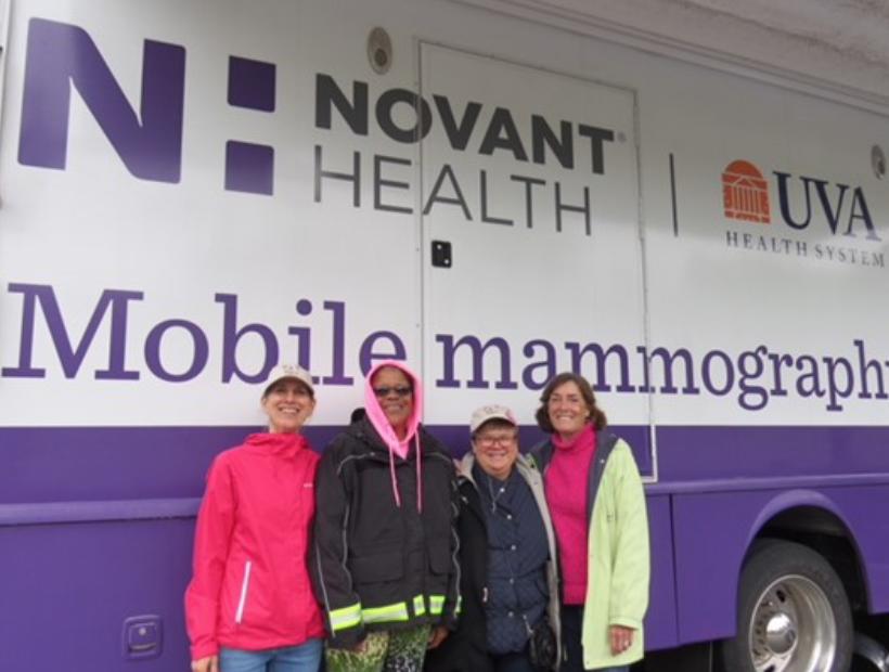 Pictured above: Cherry Blossom Board members Carol Miller, Liz Washington, Cindy Zeni, Barbara Augenblick