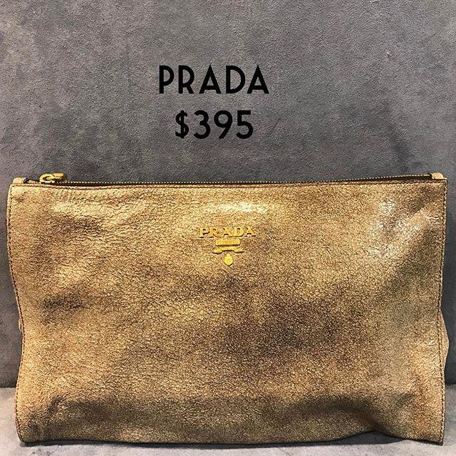 Prada $395 #consignment #prada #chicenvy #purseforsale #fairfaxcorner #fashionista #purse