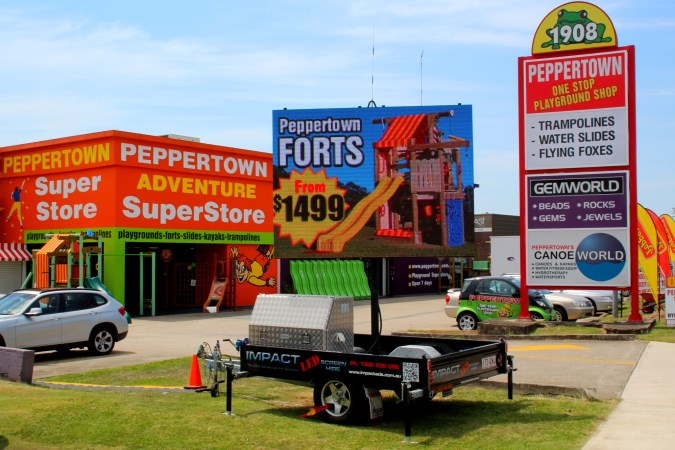 LED sign hire in Brisbane
