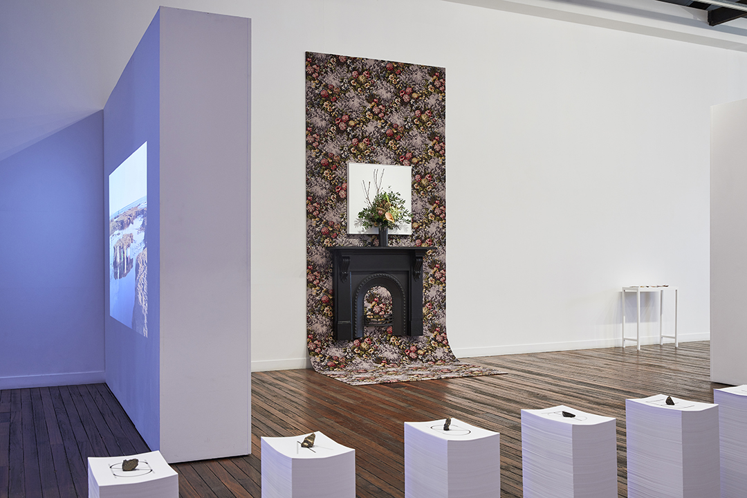 Installation view, floor 1, National Art School Gallery, Cnr Forbes & Burton St. Darlinghurst. Photo: Robin Hearfield