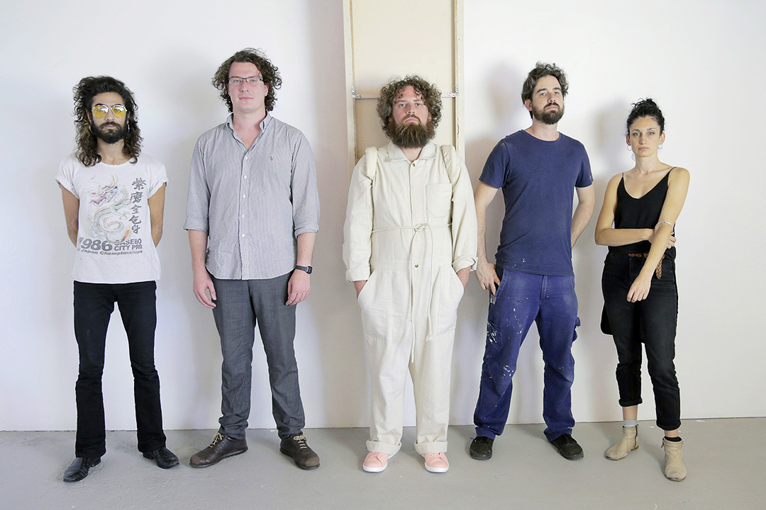 From Left: Miles Sharma-Constance; Benjamin Freeman; Jack Prest; Joe Wilson; Chanelle Collier