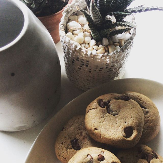 Chocolate chip cookies, elevated! 🍪 Thank you for sharing your beautiful creation @susantran👩🏻🍳. If you're looking to pack more protein into your baking or cooking, bambara flour brings it with 23% protein and a yummy, nutty flavor. Shop using the link in bio and see why we #believeinbamara  Recipe: • 1/2 cup butter, softened • 1/4 - 1/2 cup coconut oil • 3/4 cup brown sugar or coconut sugar • 2 teaspoons vanilla extract • 2 large eggs • 3 cups bambara flour • 1/2 teaspoon baking soda • 1/2 teaspoon salt • 1 1/4 cups chocolate chips of choice Preheat oven to 350 degrees and line cookie sheets with parchment paper. Combine wet ingredients and set aside. Combine dry ingredients then slowly add into wet ingredients. After combined, fold in chocolate chips. Form the dough into tablespoon rounds and bake for 11-13 minutes, or until golden brown around edges. Cool and enjoy!