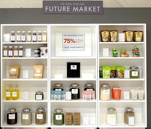 We are so thrilled to be featured on @thefuturemkt's Biodiverse Shelf at MISTA in SF. The shelf offers people a chance to taste & experiment with brands & ingredients that support a more biodiverse food system!  Learn more at thefuturemarket.com and be sure to check it out if you're in the Bay Area. #biodiversefood #believeinbambara #futureoffood #thefututemarket