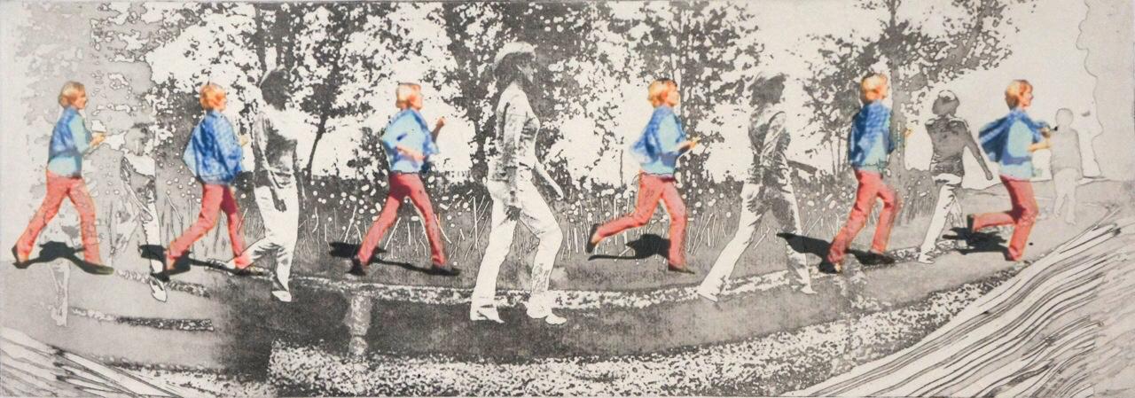 Field Walking – H Peik Larsen, 2014