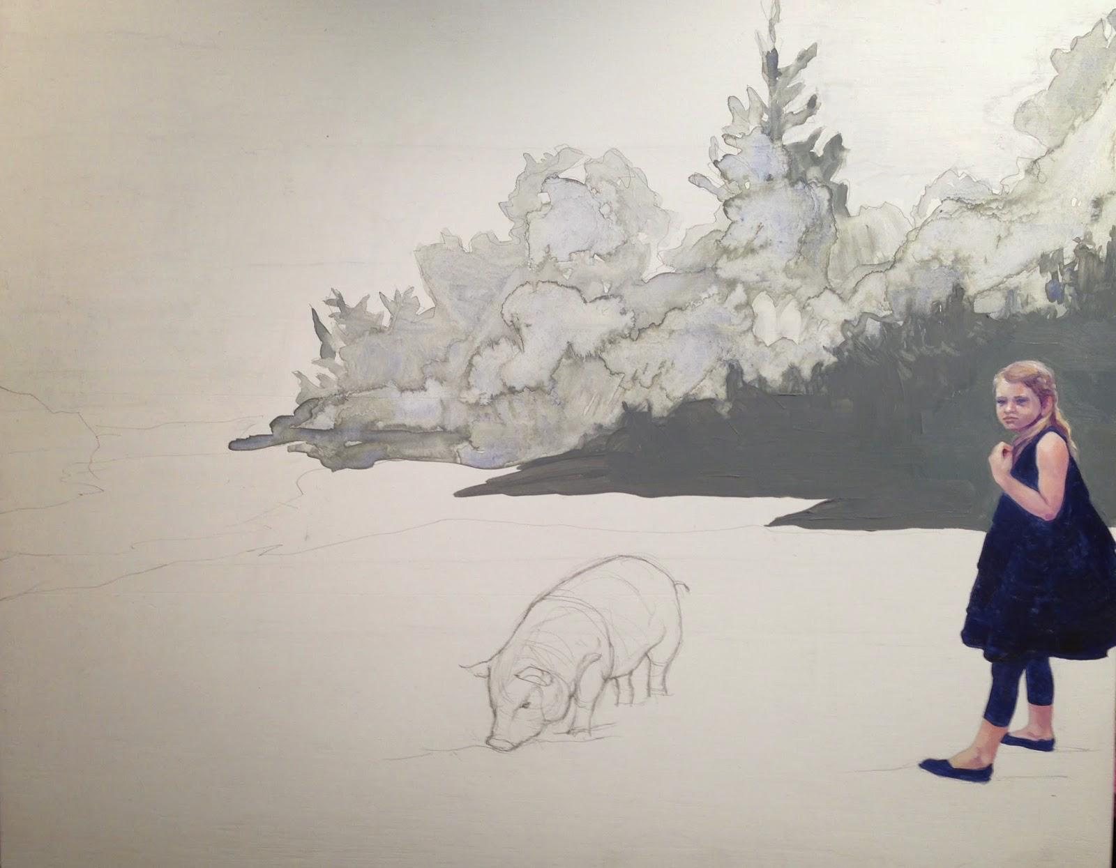 Down by the Pig Pen – Elyse V. Kotakis