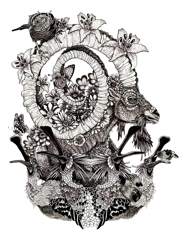 Hybrid Theory – Elizabeth MD Vuong, 2014