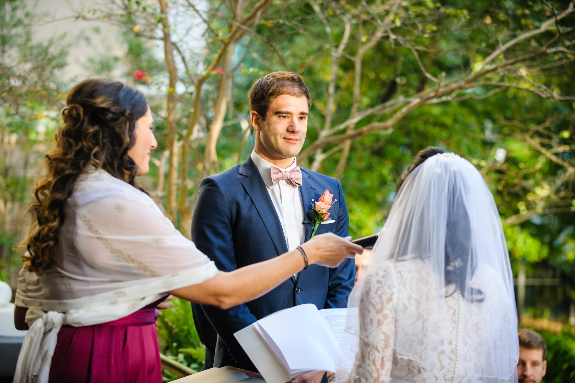 Wedding at the Columns Hotel, photographed by Scott Myers