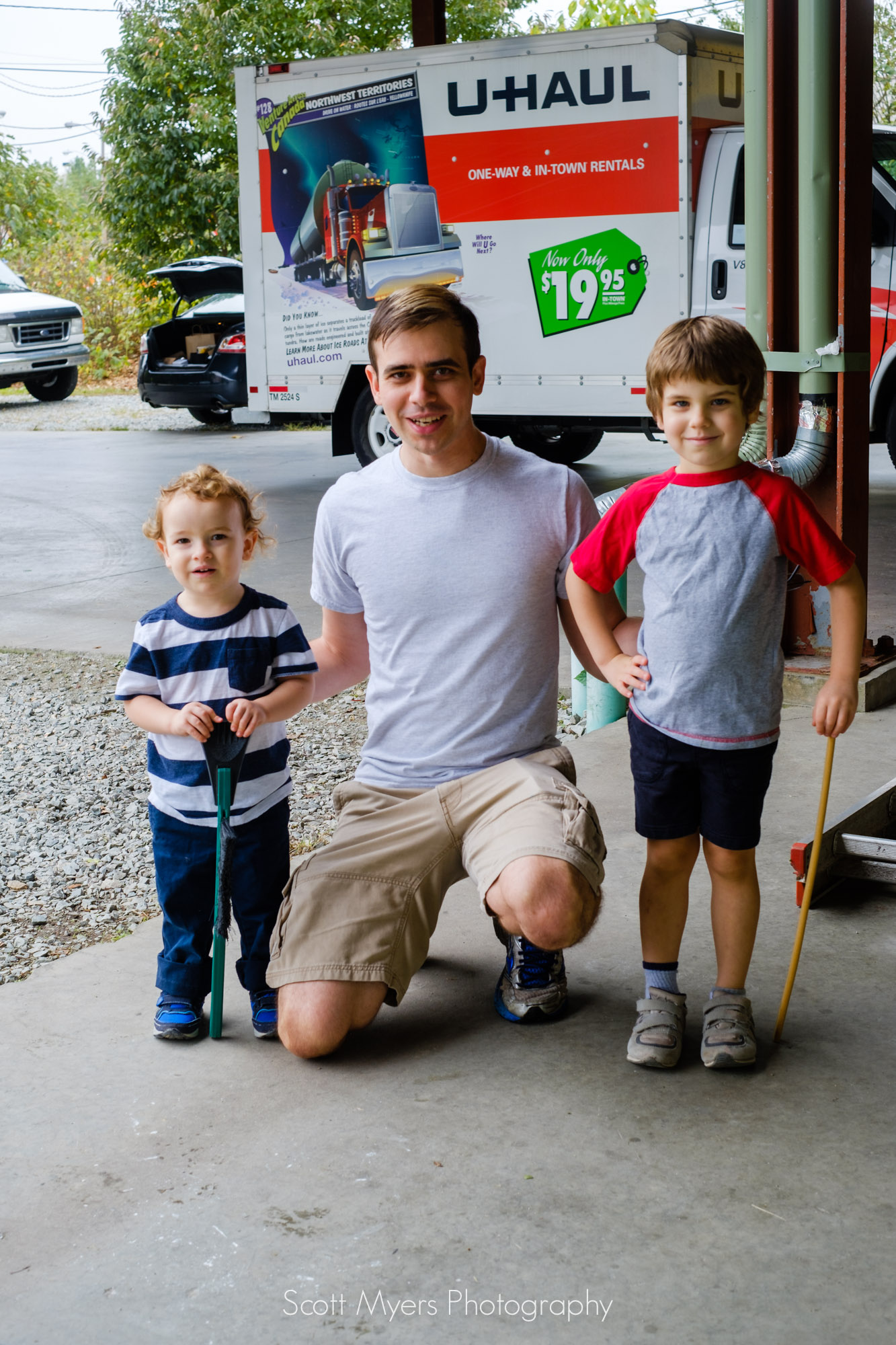 Adam Stasio and his sons.  His family has been some of our closest friends for going on 20 years now.