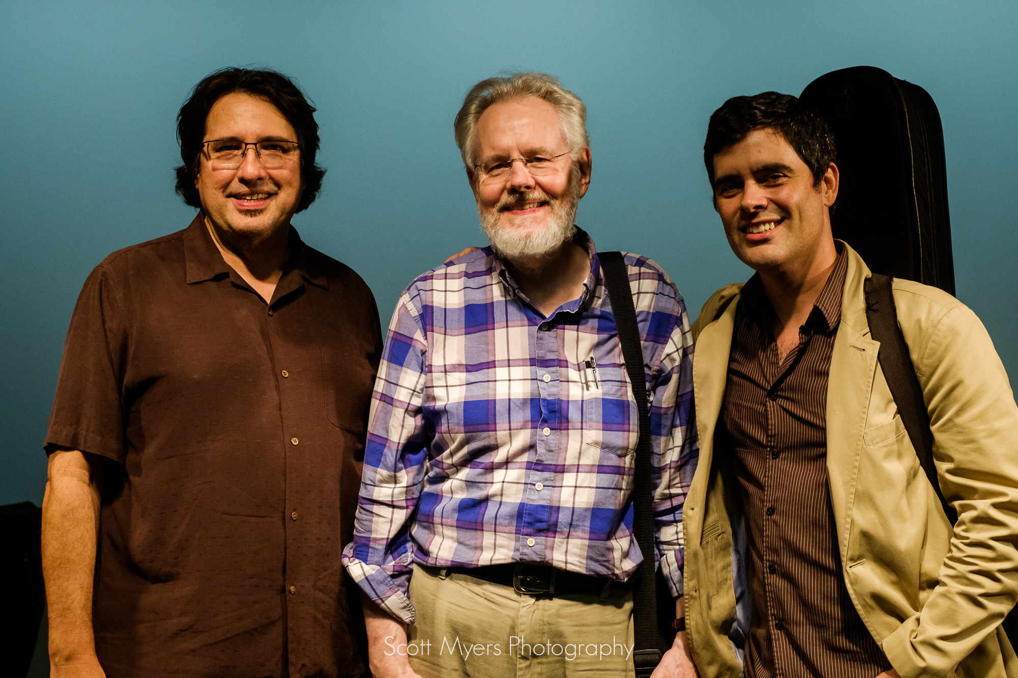 Steve Masakowski, Hank Mackie and Davy Mooney, New Orleans jazz guitarists