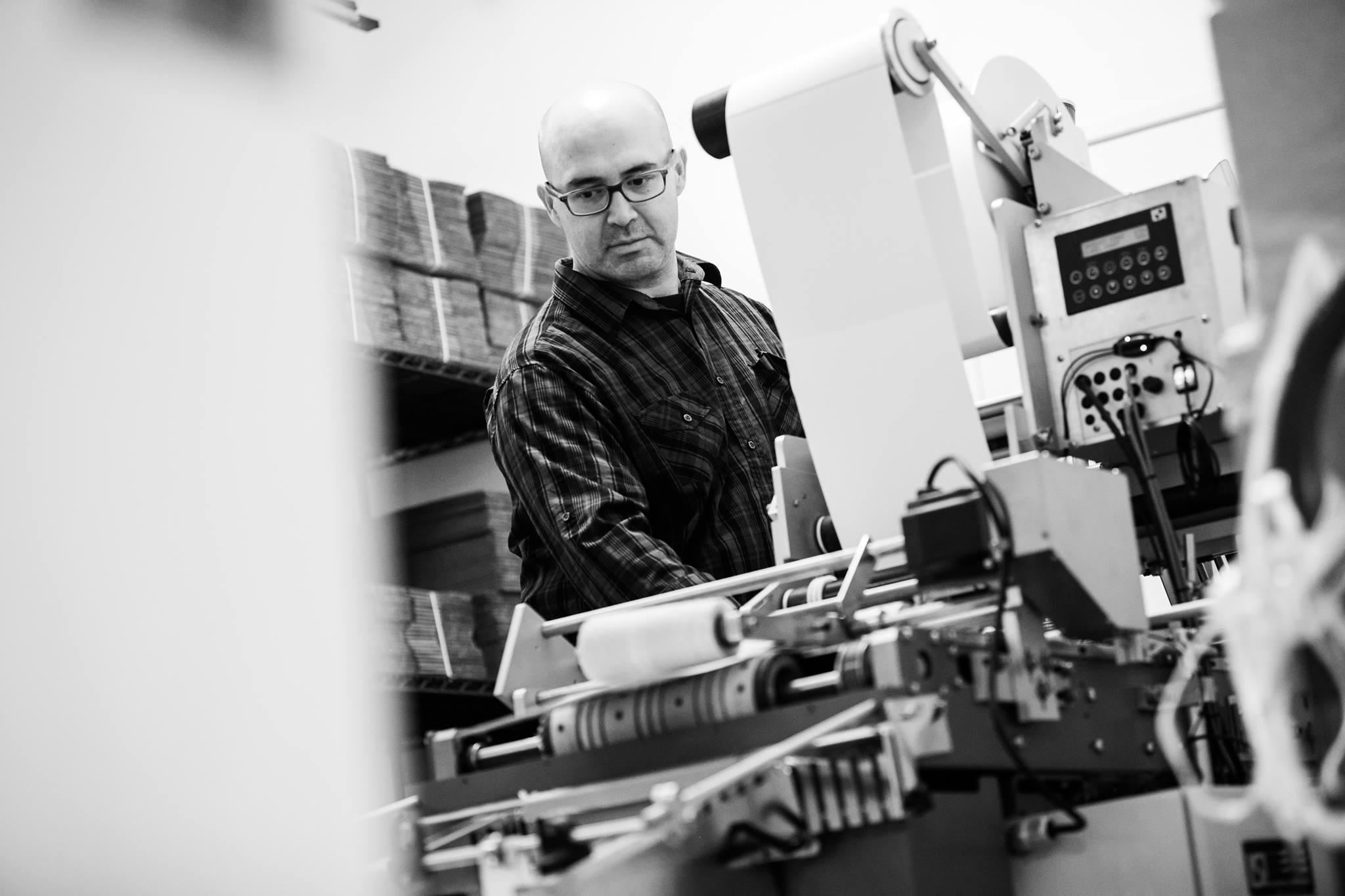 Javier Robles, Master Printer