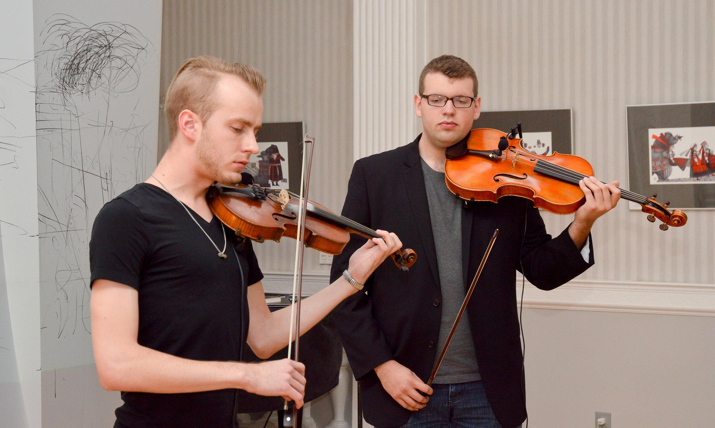 Valev Laube & Evan Basta - Performance 2